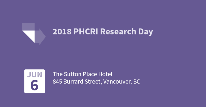 PHCRI Research Day 2018