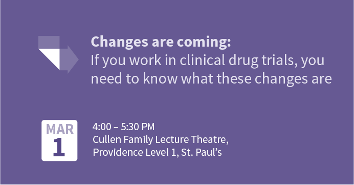 Changes are Coming: If you work in clinical research, you need to know what these changes are!