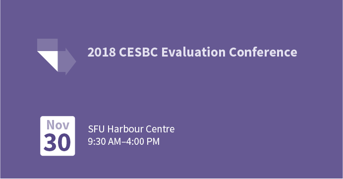 2018 CESBC Evaluation Conference