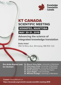 KT Canada Scientific Meeting 2019 @ Delta Hotel