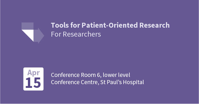 Tools for Patient-Oriented Research (for researchers)